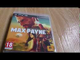 Max Payne 3 PS3, comme neuf.