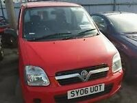 VAUXHALL AGILA 1.2 2006 BREAKING FOR SPARES TEL 07814971951 HAVE FEW IN STOCK