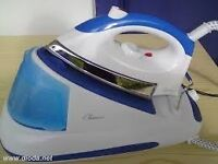 Steam generator iron, with euro plug