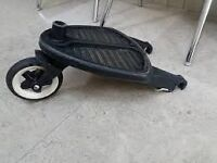 Bugaboo Wheeled Buggy Board(with adapters and strap )