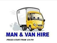 MAN AND VAN REMOVAL SERVICES IN LONDON AND SURROUNDING COUNTIES