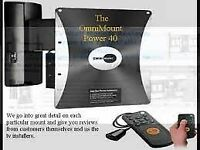 OmniMount Power40 REMOTE Controlled Motorized Tv Mount ( Wall Bracket)