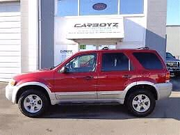 07 ford escape certified and e test 144k km v6awd
