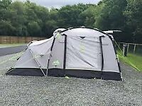 Khyam motordome sleeper driveaway awning – 4 berth + additional annexe + clip in groundsheet