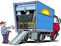 MAN AND VAN HIRE MOVING SERVICE FULL HOUSE MOVERS LONDON TO IRELAND RUBBISH COLLECTION SERVICE