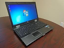 """20 gig Ram 15.6"""" Intel Quad Core i7 HP Elitebook 160 gig SSD Solid State 2gb 2048 mb Graphic Win 10 Gaming Laptop C $490"""