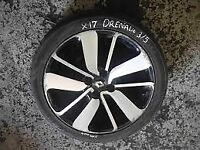 Renault Alloy Wheels Set of 4 Wheels With Good Thread 17 inch £75 ONO Call Zak: 07561344599