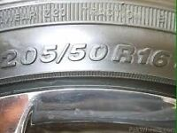 """WANTED (205/50/16"""" tyres)"""