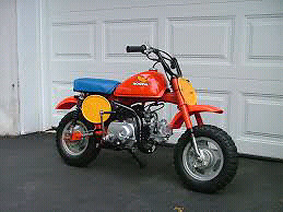Wanted: Honda z50 pictured here