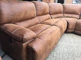 Harvey's Luxury Senator Corner Group Reclining Sofa Modular