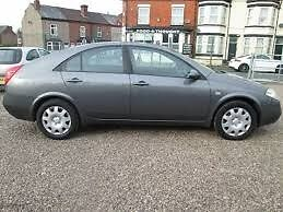 nissan primera 1.8 petrol 06 plate ex taxi 450 or swap for small car