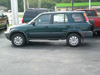 1998 Honda CR-V EX SUV, trade for a smart car