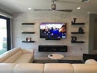 PROFESSIONAL WALL MOUNTED TV / HOME THEATER / SOUNDBAR **FREE QUOTE / NO OBLIGATIONS**