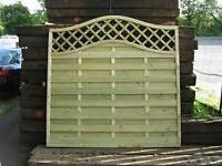 European Fence Panels - Florence 5' high x 6' wide