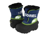 Brand New Toddler SIze 4 Sorel Snow Commander Boots