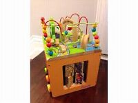 Searching for Wooden Activity Cube