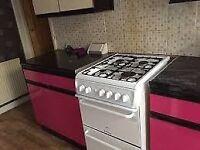 hotpoint creda freestanding gas cooker
