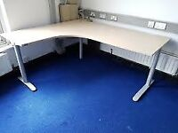 Managers corner maple office desks