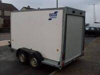 8'x5' ifor williams box trailer
