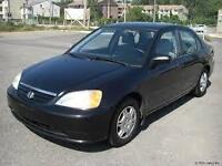 2001 Honda Civic bonne condition
