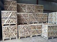 Top Quality Kiln Dried Hardwood Logs in Pallet
