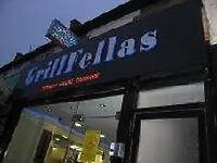 Grillfellas restaurant East Ham Katherine Road cooks needed
