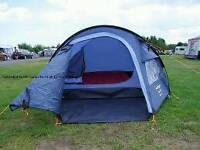 3 man tent for sale. zip broken