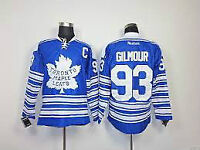 #  93 GILMOUR - TORONTO MAPLE LEAF WINTER CLASSIC JERSEY