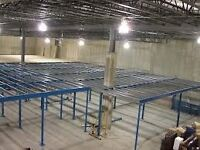 ALL MEZZANINE FLOORS WANTED!!! CASH ( STORAGE , PALLET RACKING)