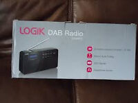 Portable DAB Radio LOGIK L2DAB12 - Black brand new