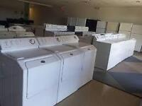 """WASHERS $219 - DRYERS $159   -  Used Appliance """"SALE"""""""