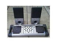 Homemix DJ mixer 2 original speaker includef