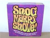 Snog Marry Shove Board Game
