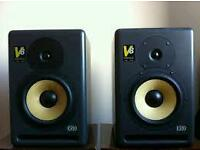 KRK series 2 V8 (pair) Active near field monitors