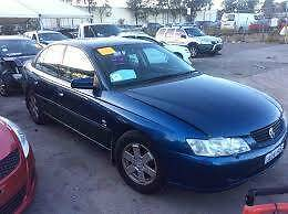 HOLDEN COMMODORE VY VZ WRECKING, ENGINE, MOTOR, GEARBOX ALL PARTS
