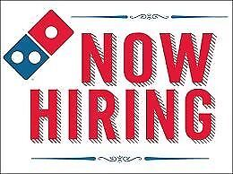 Dominos Delivery Drivers needed (DE11 8JU)-upto £10.20-pt/ft