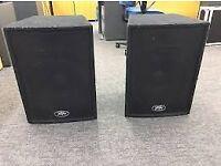 Pair of Peavey Pro-15 mark 2 loudspeakers