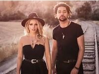 The Shires concert ticket, G Live Guildford, 24 April 2017