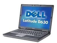 "PROFESSIONALLY REFURBISHED DELL D630 14.1"" 3GB RAM 80GB HDD INTEL DUO OFFICE WEBCAM 3 MTH WARRANTY"