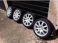 Peugeot 16 '' inch alloys 4x108 suit citroen berlingo c2 c3 saxo ford 207 307 partner