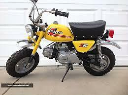 Cash paid for parts or whole 1968-1978 Honda Z50 Mini bikes