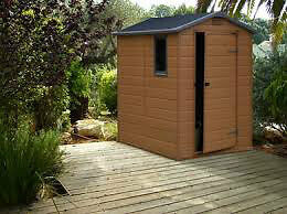 Agustus 2016 outdoor yard storage shed for Garden shed 7x4