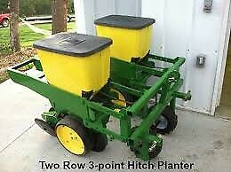 Looking for a 2 row corn planter