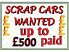 CARS WANTED (MIN PRICE PAID £100 MAX £500 ) ALL MAKES ANY CONDITION RUNNING OR NOT WE WILL BUY IT County Durham Middlesbrough Billingham Sunderland, Hartlepool