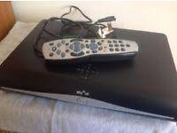 sky + hd box with remote (cud deliver)
