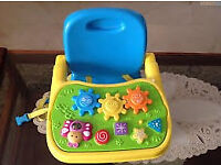 Musical Baby Booster/ Travel Seat