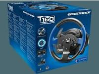 NEW - Thrustmaster T150 Force Feedback Wheel PS4/PS3/PC