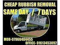 CHEAP RUBBISH REMOVALS ! NO NEED FOR A SKIP! WE MOVE IT FOR YOU!