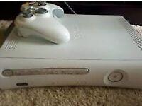 Xbox 360 3 games 1 pad