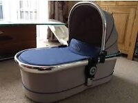 Icandy 3 carry cot in azure